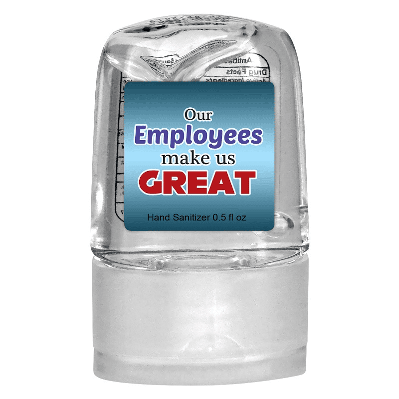 0.5 oz. Thank Your Employees Sanitizer