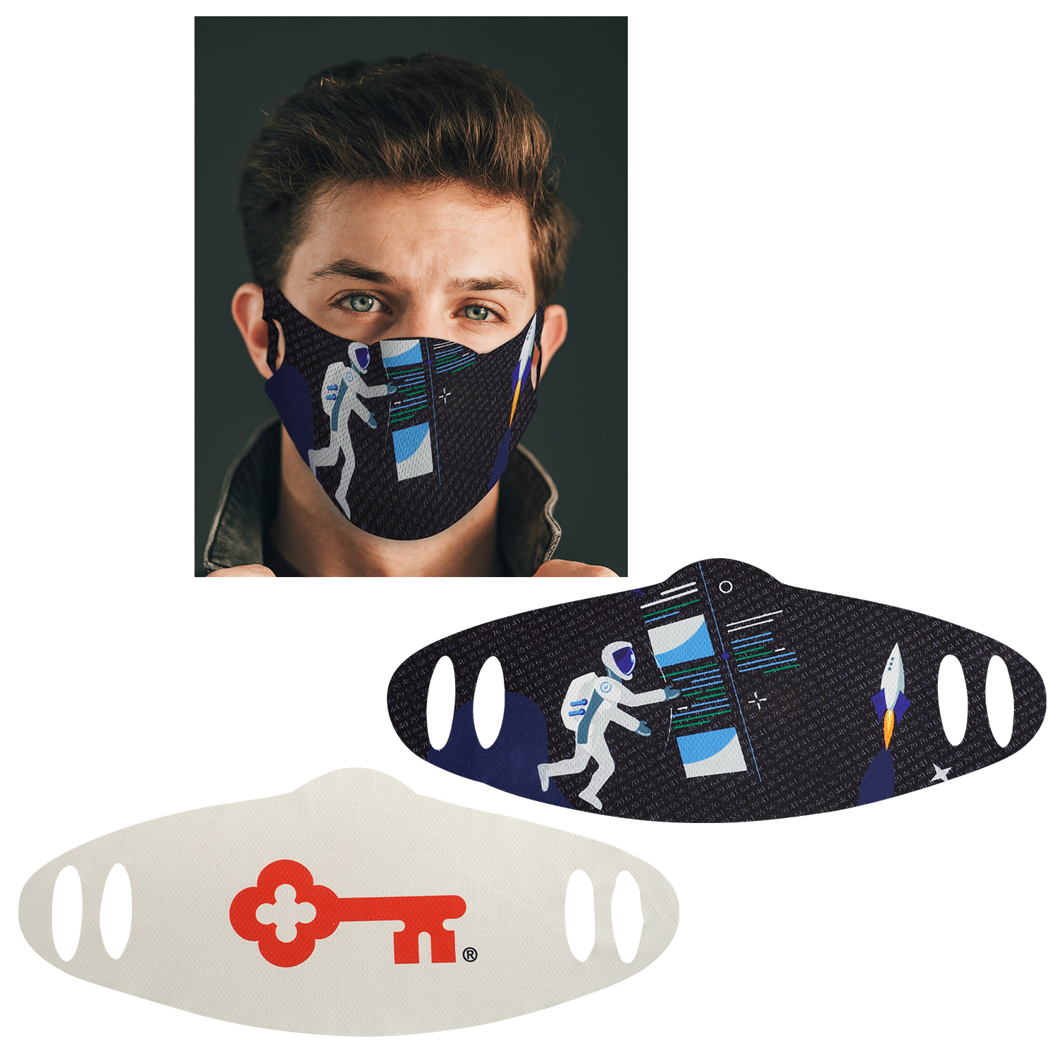 Full Color Fabric Mask