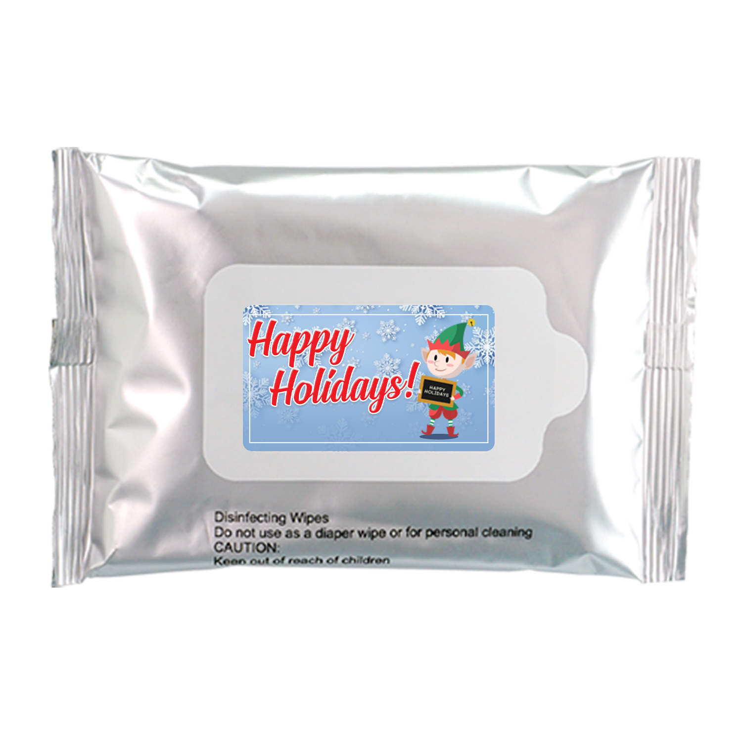 Happy Hollidays Sanitizing Wipes