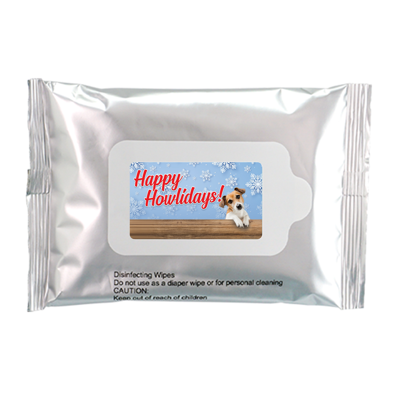 Happy Howl-idays Sanitizing Wipes