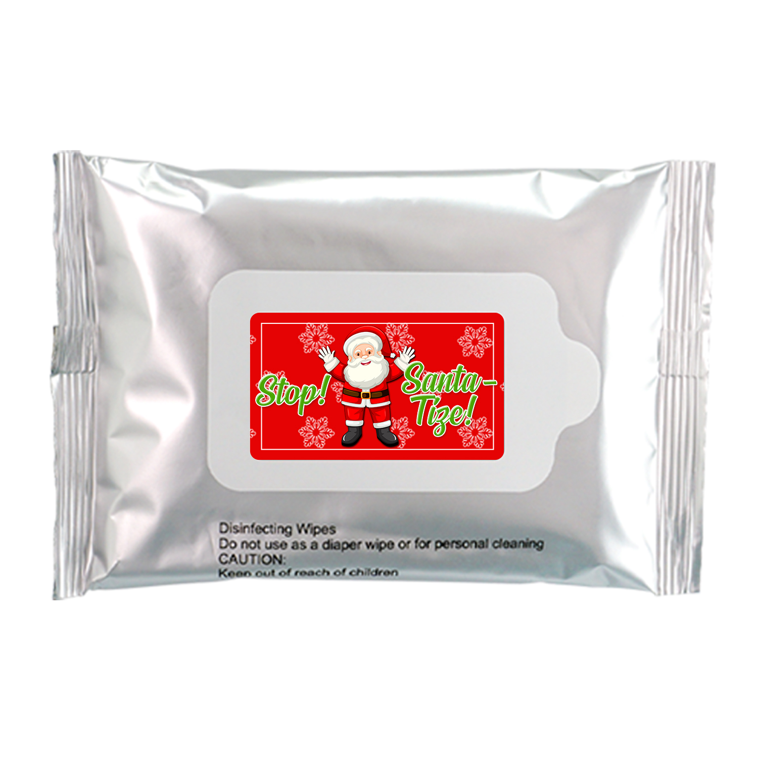 Stop! Santa-tize! Sanitizing Wipes