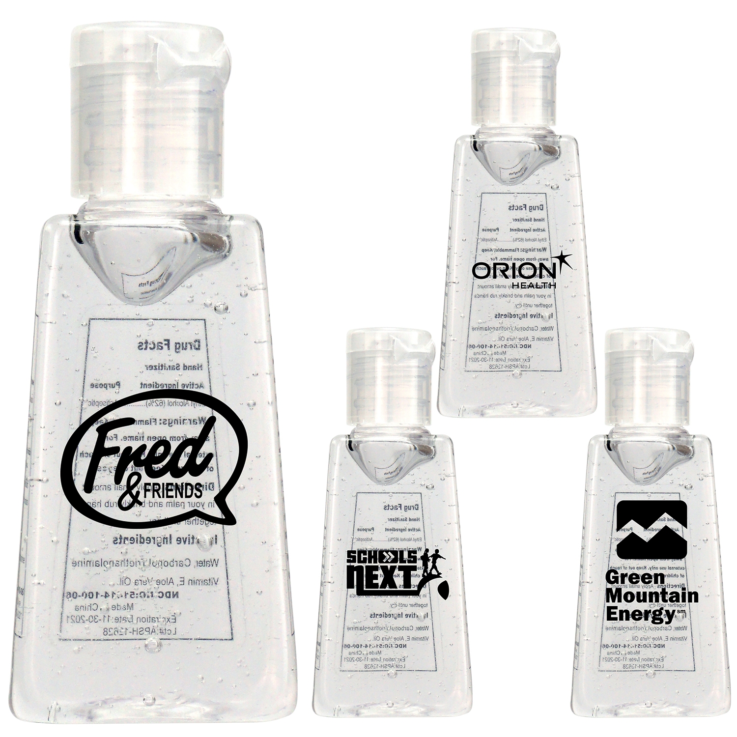 Trapezoid Hand 1 oz. Sanitizer