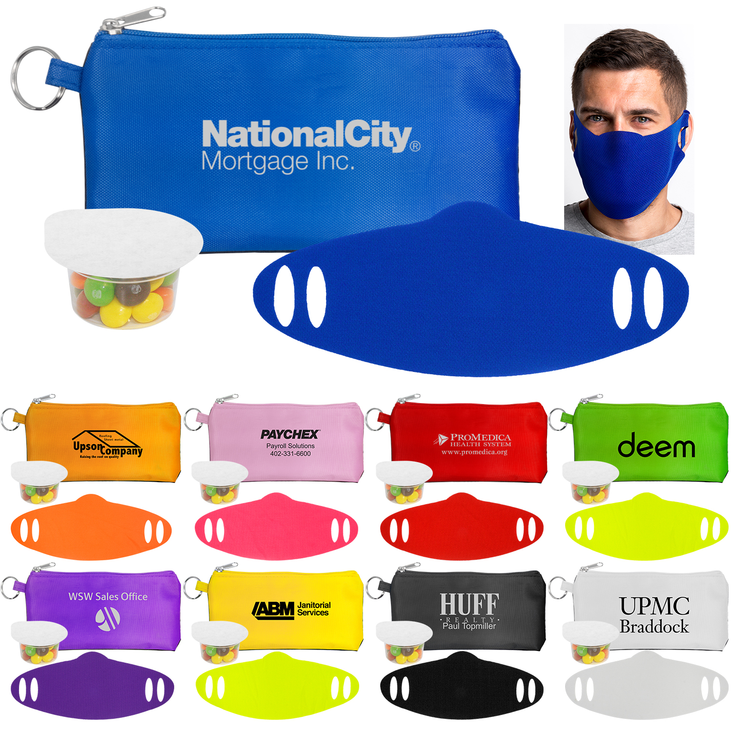 Stretchy Snack and Safety Set