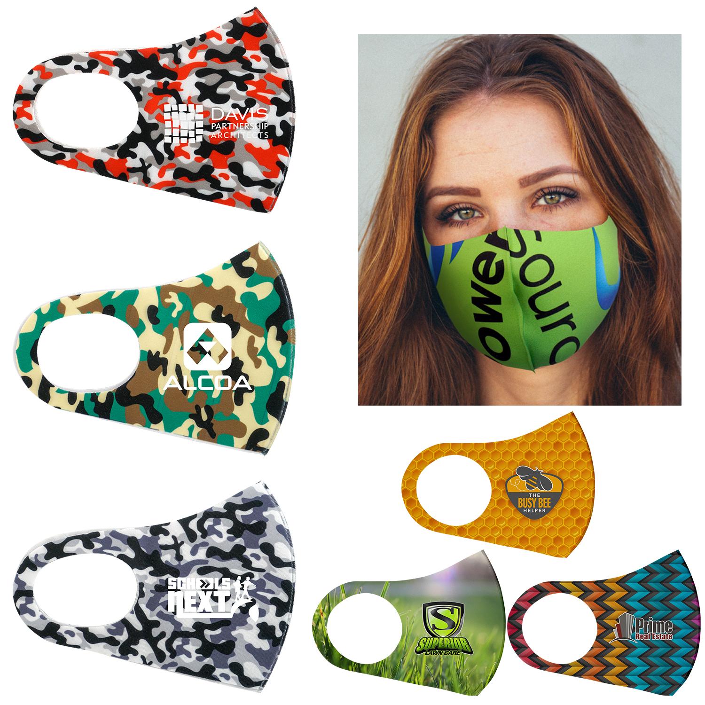 Vibrant Face Mask