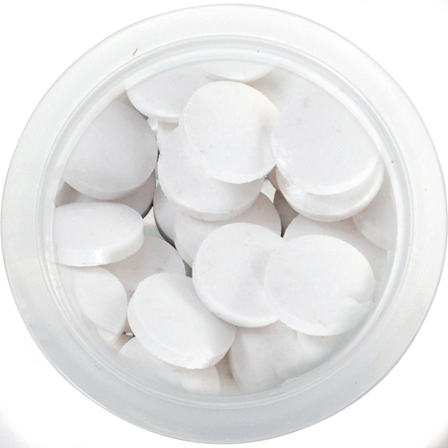 Small 4 Color Cup of Printed Sugar Free Mints