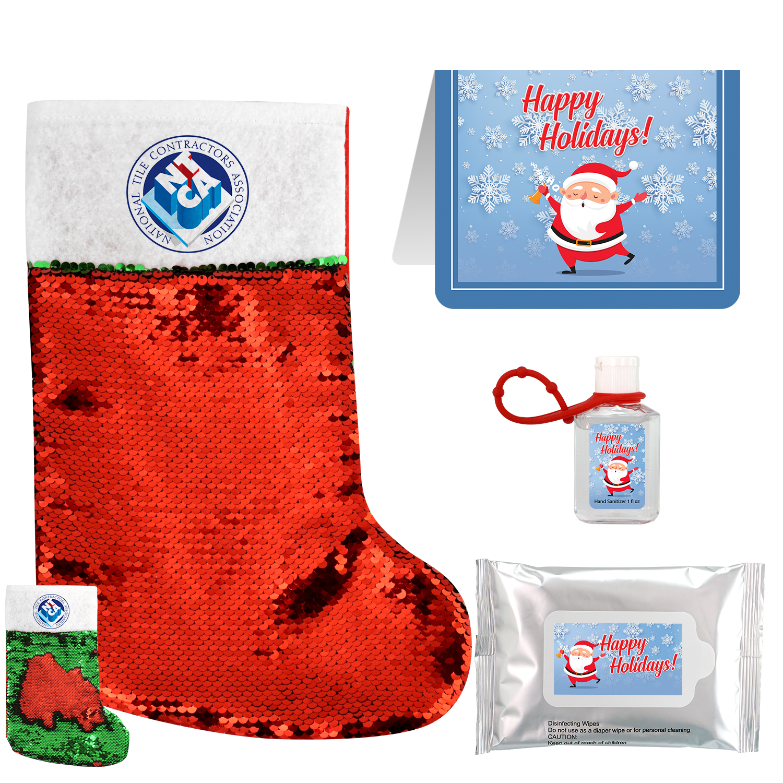 Santa's Stocking Set