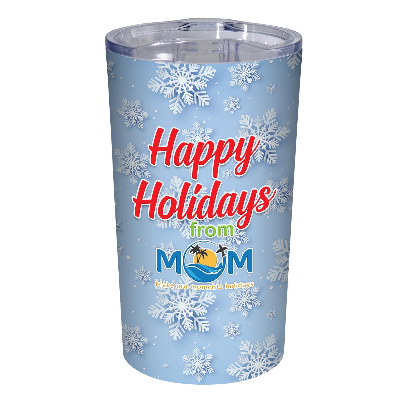 Happy Holidays Tumbler