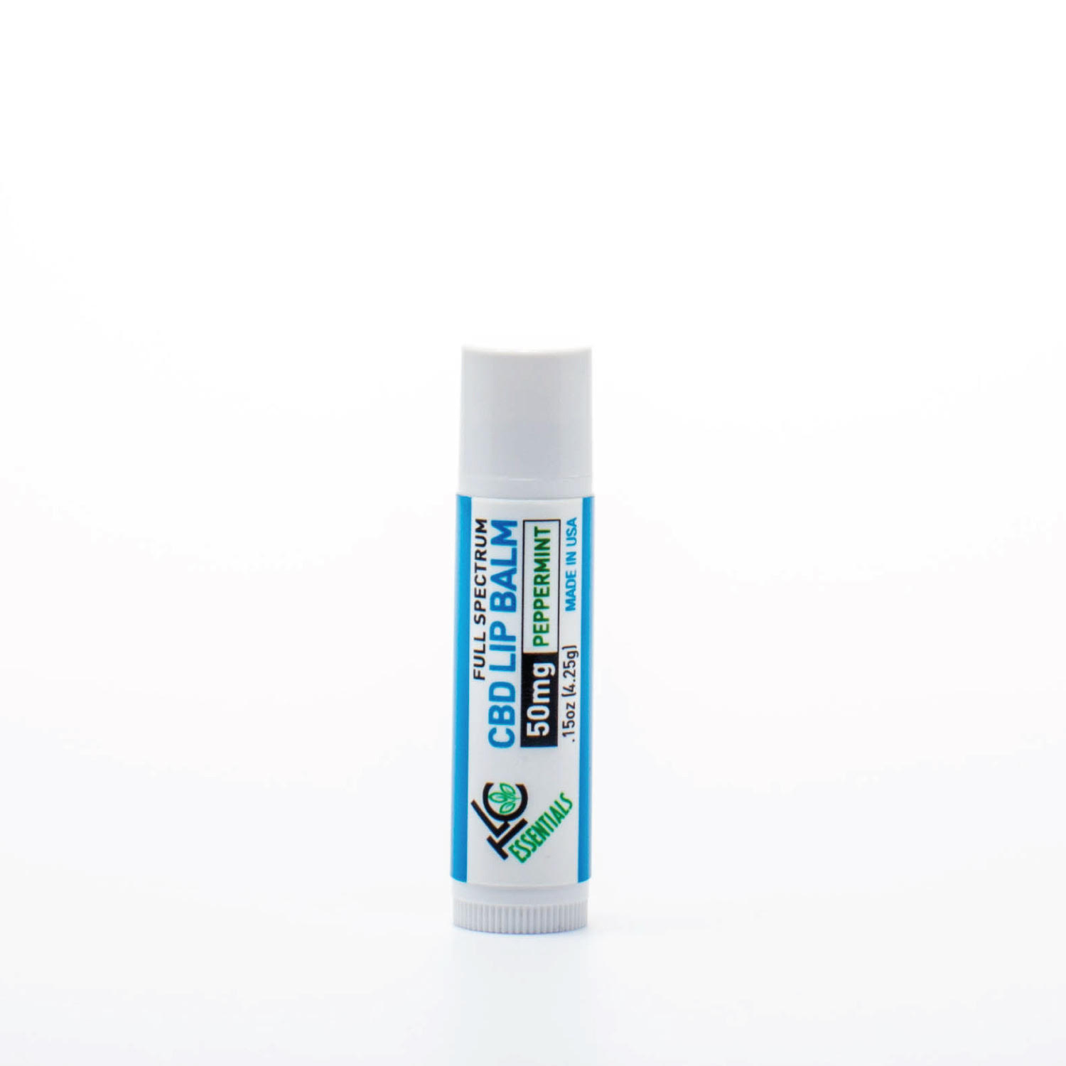 TLC 50mg Full Spectrum Peppermint CBD Lip Balm